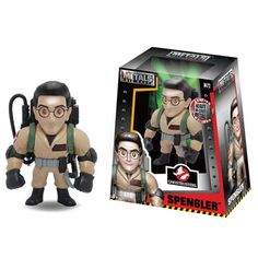 Ghostbusters Egon Spengler 4-Inch Metals Die-Cast Figure - Jada Toys - Ghostbusters - Action Figures at Entertainment Earth