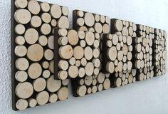 Rustic Wall Art Modern Art Wood Sculpture Tree от ModernRusticArt