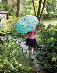 I am totally in love with this Oilcloth Umbrella Pattern @Craft Magazine