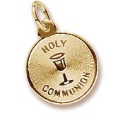 Holy Communion Charm In Yellow Gold