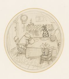 Classic illustrations from Winnie-the-Pooh and The Wind in the Willows by the artist EH Shepard are to be auctioned by his family next month. Winnie The Pooh Drawing, Winne The Pooh, Winnie The Pooh Quotes, Winnie The Pooh Friends, Pooh Bear, Tigger, Eeyore, Eh Shepard, Tao Of Pooh