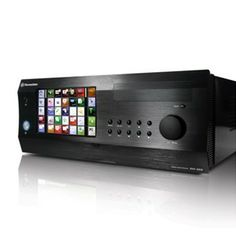 Thermaltake DH 202 HTPC Case with 7 inch touch screen.