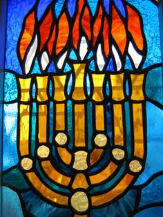 stained glass window in Israel