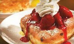 Breakfast and Diner Food at IHOP (Half Off). Two Options Available. Fruit Crepes, Savory Crepes, Ihop French Toast Recipe, Chef Guy Fieri, Dove Recipes, Big Steak, Buttermilk Pancakes, Best Breakfast, Food Network Recipes