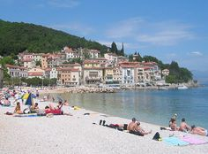 Istria Beaches are awesome This is Moscenicka Beach