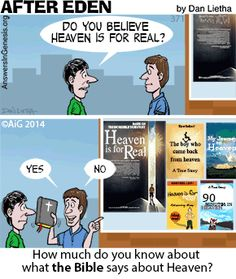 Read About the Real Heaven!