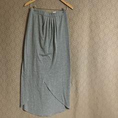 Grey maxi skirt Grey maxi skirt, size medium Others Follow Skirts Maxi