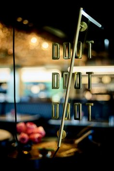 Signage for Doot Doot Doot restaurant at Jackelope