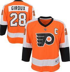 1171d730218 NHL Youth Philadelphia Flyers Claude Giroux  28 Replica Home Jersey