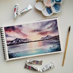"360 次赞、 13 条评论 - Anastasia Avdeeva (@vesna_v_serdce) 在 Instagram 发布:""Я вот заметила, что ни разу не рисовала осень. Как бы я ее не любила, но, наверное, дело в цвете.…"""