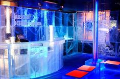 Insane! How's this for a chilled change? Absolut Ice Bar London.