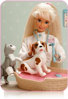 Pet Doctor Barbie