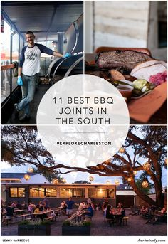 Satisfy your slow-smoked craving for mouth-watering BBQ at one of the 11 best BBQ joints in Charleston, South Carolina.   Charlestonly.com