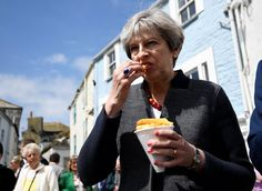 Theresa May's Chips And The Other Awkward Moments The General Election Has Given Us So Far | HuffPost UK