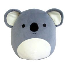Squishmallows Kellytoy 16 Grey Koala Super Soft Plush Toy Pillow Animal Pet Pal Buddy Grey Koala *** Find out more by checking out the image web link. (This is an affiliate link). Cute Pillows, Soft Pillows, Cute Stuffed Animals, Dinosaur Stuffed Animal, Cute Plush, Animal Pillows, Plush Animals, Plushies, Panda