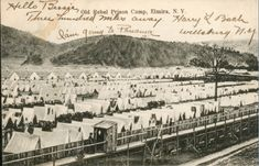 Elmira Prison Camp (Civil War) History