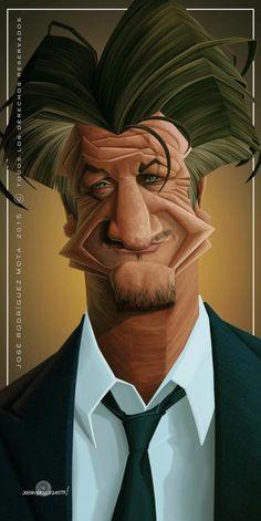 Sean Penn por Jose Rodríguez Mota