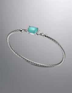 David Yurman Chalcedony Bracelet
