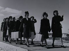 In October, 1942, enlisted women also began training to become WAVES. Initially, 3 schools were set up on college campuses: Madison, Wisconsin, Stillwater, Oklahoma, and Bloomington, Indiana. Each would eventually become a specialty training center after the Hunter College boot camp was established in February 1943. University of Wisconsin, Madison trained radio operators. Oklahoma A & M University was a training facility for yeomen, and Indiana University at Bloomington trained storekeepers.