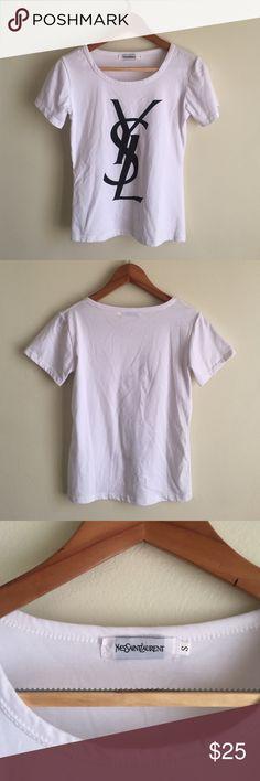 YSL t-shirt Good condition- minimal wear Yves Saint Laurent Tops Tees - Short Sleeve