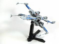 Star Wars: The Force Awakens, UCS T-70 X-Wing Fighter MOC by BigCrown