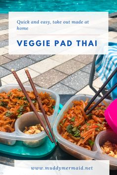 quick and easy pad thai:  take out you can make at home, thug kitchen inspired, vegan, vegetarian, asian Veggie Pad Thai, Vegetarian Pad Thai, Vegan Vegetarian, Butter Pie, Peanut Butter, Epic Meal Time, Thug Kitchen, Duck Sauce, Hoisin Sauce