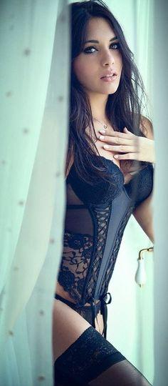 meet your dating partner through best dating sites models, girl, sexi, boudoir, corset, hot, beauti, black lingerie, beauty