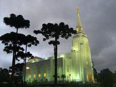 Curitiba Brazil Mormon Temple  We love Temples at: www.MormonFavorites.com