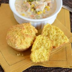 Corn Muffins by Bless This Mess