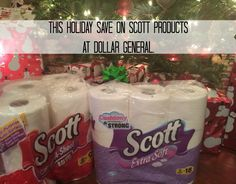 Save on SCOTT® Products from Dollar General! #AD https://ooh.li/41282f4