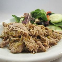 """Salsa Verde Pork 