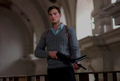 "devotedtojamie: "" "" Jamie Dornan as Jan Kubiš, a Czech soldier on a mission to assassinate a Nazi general, in Anthropoid. "" """