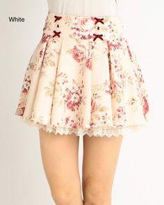picture of LIZ LISA Floral Sukapan Skirt 2