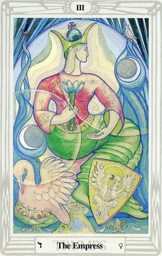 III  The Empress - Alister Crowley Thoth Tarot