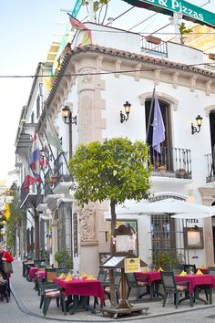Marbella old city