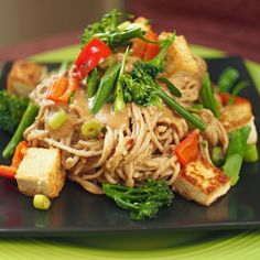 My first year as a vegetarian my dinner was either pasta or stir fry and as time passed I eventually learned how to make other dishes but I still fall back on stir fry at least 3-4 times a month. T...