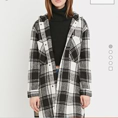 NWOT Plaid coat Plaid coat from forever 21. Reasonable offers considered Jackets & Coats