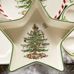 You'll love the Winter Greetings Plaid Salad Plate at Wayfair - Great Deals on all Kitchen & Dining  products with Free Shipping on most stuff, even the big stuff.