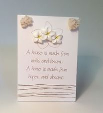 """Hopes & Dreams"" House Warming & House Blessing Gift Ideas Her New House Plaque House Plaques, House Blessing, Hopes And Dreams, House Warming, Blessed, New Homes, Gift Ideas, Gifts, Presents"