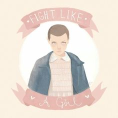 Eleven, fight like a girl
