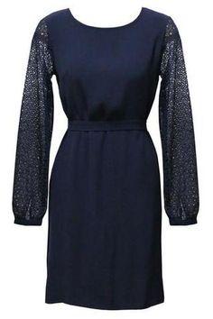 Staple + Cloth Eternity Dress Lace Sleeves at Florence Boutique, Karori Road, Karori, Wellington New Zealand Lace Dress With Sleeves, Dress Lace, Florence, Feminine, Boutique, How To Wear, Clothes, Black, Tops