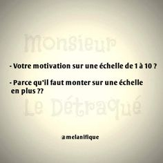 Funny French, Morning Mood, French Quotes, Motivation, Bullshit, Quotations, Haha, Jokes, Cards Against Humanity