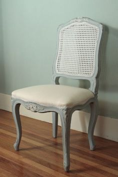 I'll be doing this to my recent purchase of 6 old chairs. The one shown is $440. Mine should be about $10. Heh. Louis XV Straight Cane Back Chair Laurel Crown Furniture http://www.amazon.com/dp/B0038KSGA0/ref=cm_sw_r_pi_dp_bdAPub0RV7NFY