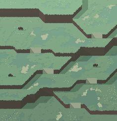 Hydezeke isometric/parallax game map