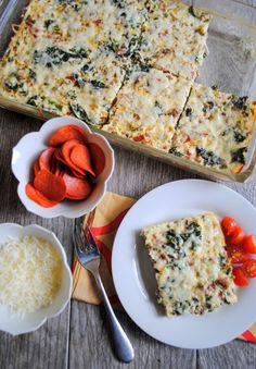 Egg White Pizza Bake