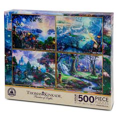 SOLD OUT Thomas Kinkade Puzzle Set | Board Games | Disney Store