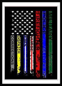 We Don't Fight Alone Flag Decal - - Description Great for personalizing Yeti Tumblers and so much more! The vinyl decal measures x and comes in color of your choice. American Flag Wallpaper, American Flag Art, American Flag Tattoos, Ems, Patriotic Pictures, Police Flag, Fight Alone, Wood Flag, I Love America