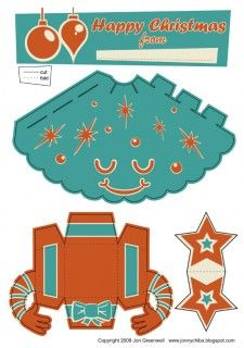 Blog_Paper_Toy_papertoy_Xmas_Tree_orange_template_preview