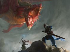 Dungeons And Dragons, Vampire, Monster, Sci Fi, Art, Red Dragon, Pretend Play, Heroes, Games