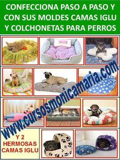 curso corte confeccion camas perros iglu colchonetas mascotas molde